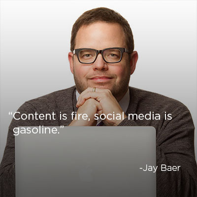 Content Marketing Quote: Jay Baer