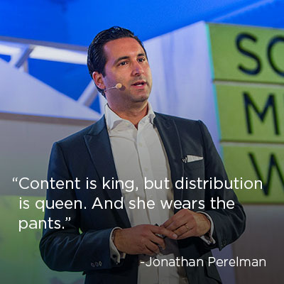 Content Marketing Quote: Jonathan Perelman